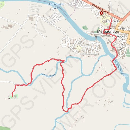 Maragondon - Bonifacio Shrine and Eco-Tourism Park GPS track, route, trail
