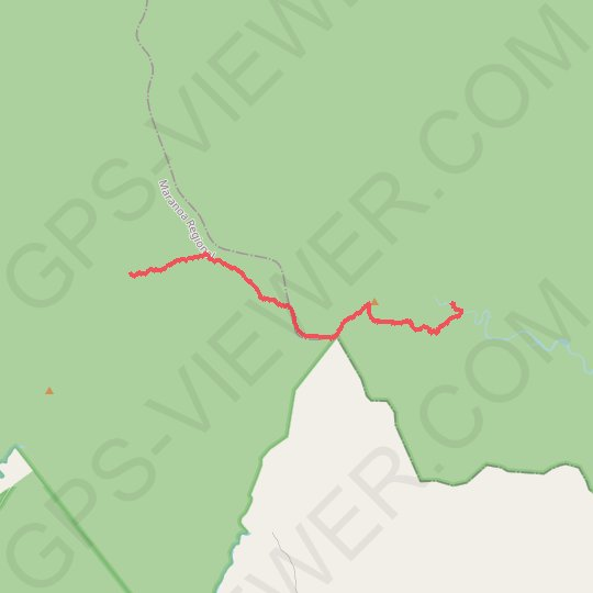 Carnarvon Gorge - Big Bend to Gadds GPS track, route, trail